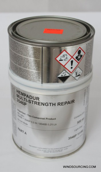 HEMPADUR MULTI-STRENGTH REPAIR 3546P + Härter 9546B