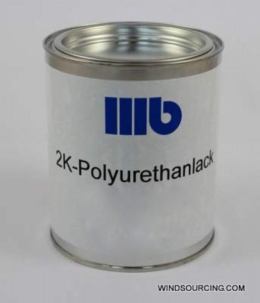 2K-Polyurethanlack RAL 9010 sdm. 7:1 7,0 Kg