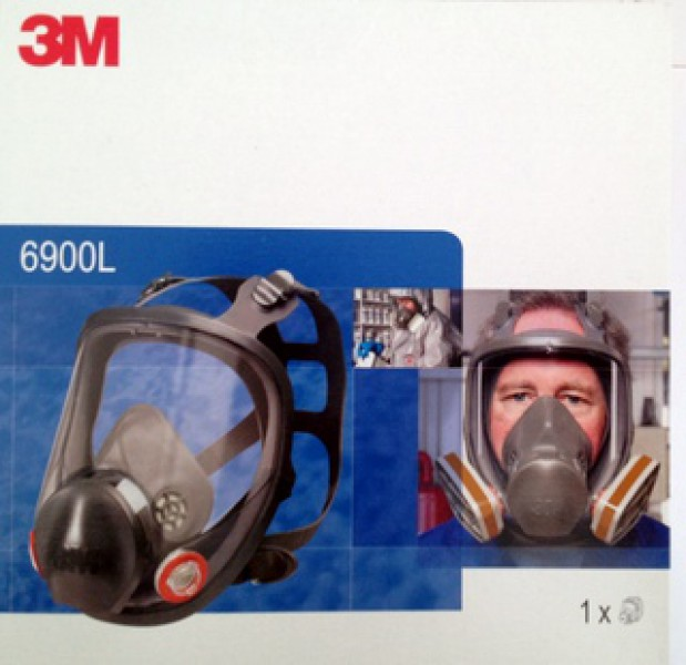 3M™ 6900S Vollmaske Silikon, Größe L