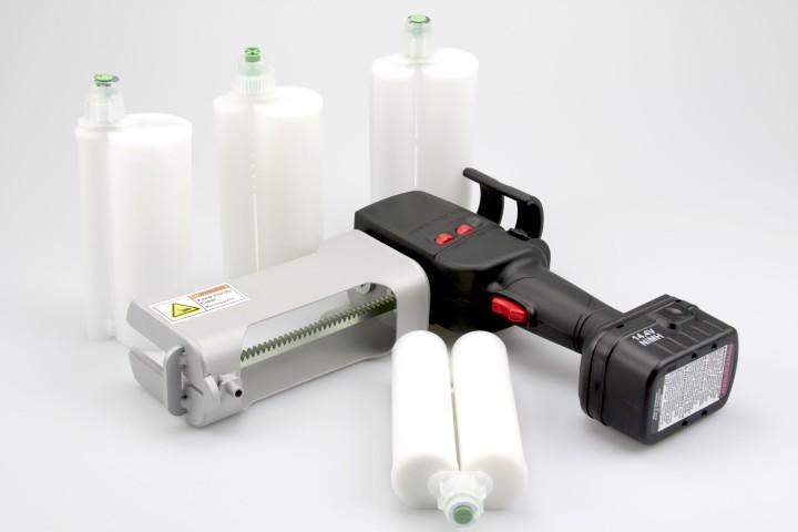 Akkupistole 400 ml geeignet für Mixpac Kartuschen (Bergolin + Akzo Nobel)