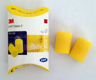 3M E-A-R Classic II ear plugs, pillow pack