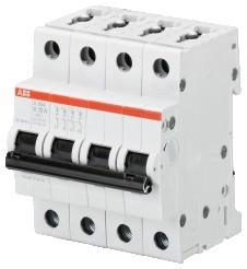2CDS254001R0257 S204-K1,6 circuit breaker
