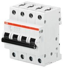 2CDS254001R0044 S204-C4 circuit breaker