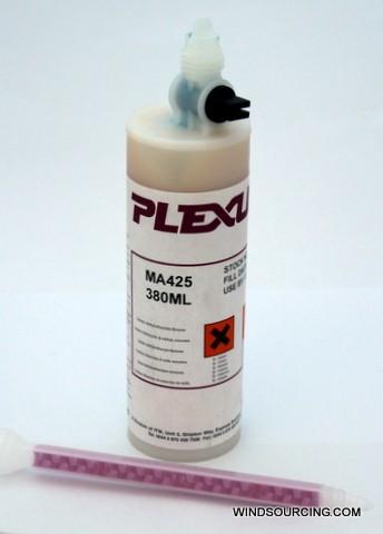 Plexus MA 425 Kleber & Aktivator, 380 ml Kartusche inkl. Mischdüse