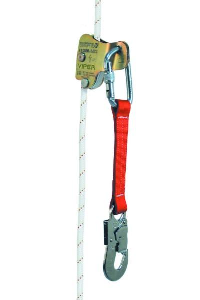 3M PROTECTA Viper mitlaufendes Auffanggerät, mit Gurtbandverbindungsmittel, Schraub-Karabiner
