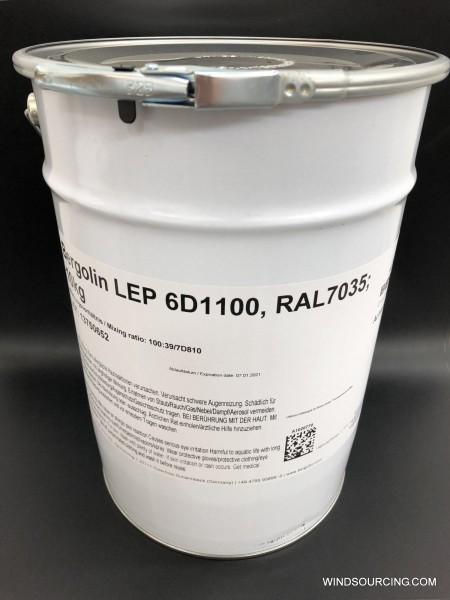 Bergolin LEP 6D1100, RAL 7035, 10 kg