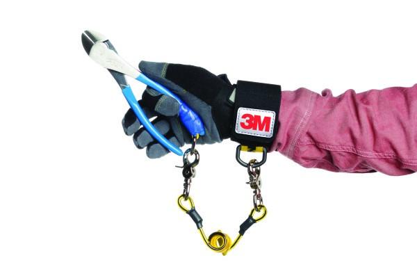3M DBI-SALA breites elastisches Handgelenkband, nicht einstellbar, kleiner Durchmesser, mit Befestig