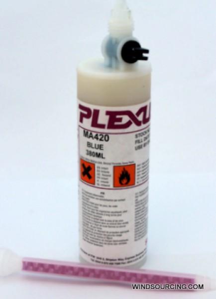 Plexus MA 420 Kleber (blau) / Aktivator, 380ml Kartusche