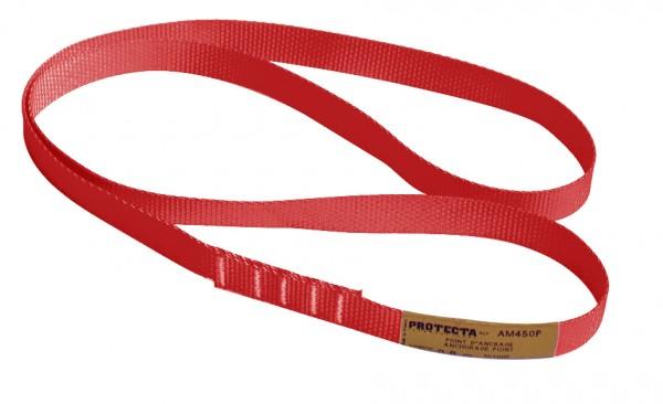 3M PROTECTA Bandschlinge AM450/120 mit 25 mm Breite, 1,2 m Länge, rot