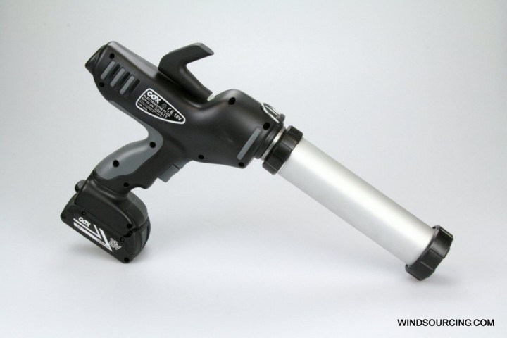 Akkupresse für SikaCor® SW-1000 RepaCor 295g Kartuschen