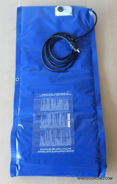 Heizmatte WINDSOURCING.COM 500x1000mm 300W 230V 10-90°C 2m Kabel