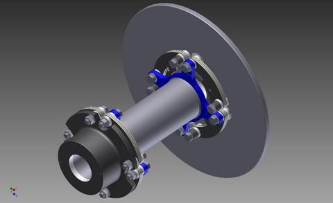 Kupplung Zero-Max für Pioneer Wincon - P750/49 AW740000