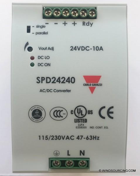 Mita-Teknik STROMVERSORGUNG 230V AC / 24V DC 10A, 899001110 - New P/N 899000735