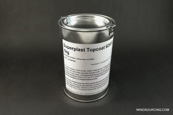 Bergolin Superplast Topcoat 6D973, RAL 7038, 1 kg