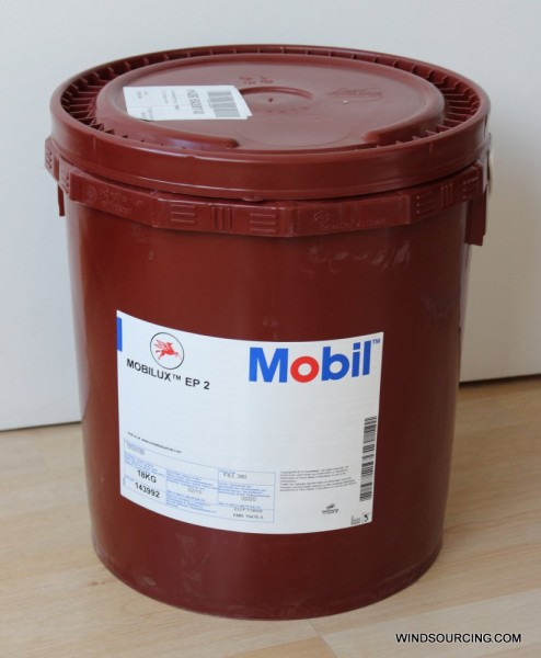 Mobilux EP 2, 18 kg drum, multi-purpose grease