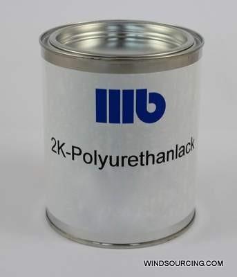 Reparatur-Set: 2K-Polyurethanlack RAL 2009 sdm. 7:1 0,8 Kg