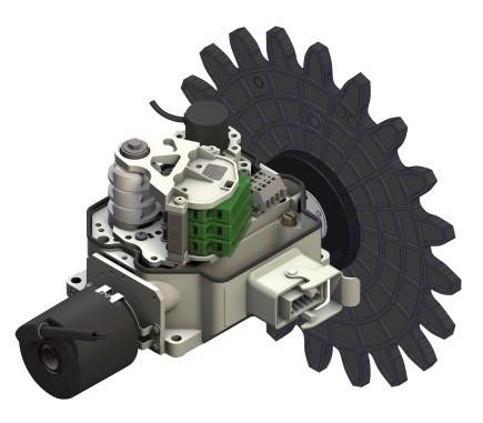LigthCam_M Getriebe-Nocken-Endschalter (Azimut + Pitch)