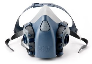 3M™ half masks 7501