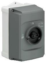 1SAM101940R1000 IB325-G Insulated housing grey, IP65,