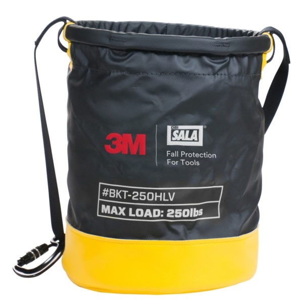 3M DBI-SALA Transport-Tasche SAFETY BUCKET, Größe: 38 x 32 cm, wasserdichtes Vinyl, Zugband, Tragegu