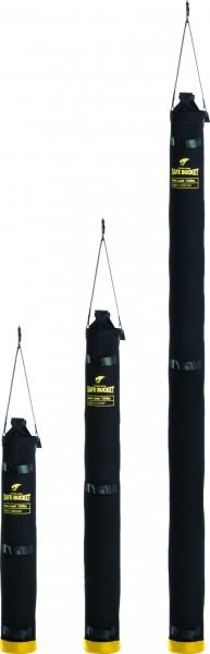 3M DBI-SALA Tasche für Gerüststange, Länge: 122 cm, Segeltuch, schwarz, Haken-Ösen-Verschluss-System