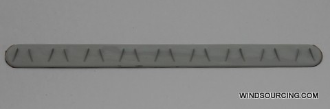 Vortex Generator Vestas Rotorblätter,21,5cm x 3cm, vorher 6mm
