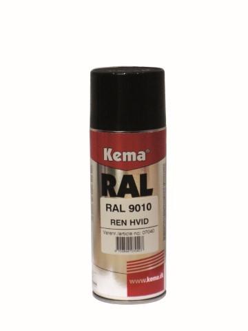Kema Farblack RAL 9010 weiss
