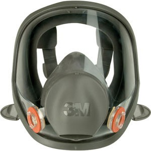 3M 6700S Full Face Mask Silicone, Size S