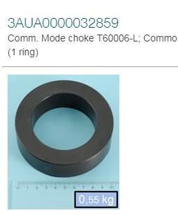 Comm. 250F/4,2UH Mode Choke T60006-L