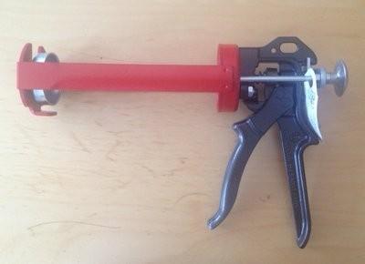 Kartuschenpistole manuell für Plexus MA 420 & MA 425, 380 ml Kartusche