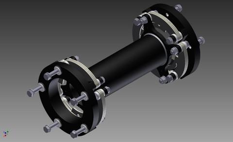 Kupplung Zero-Max für Vestas - NM48 AW739600
